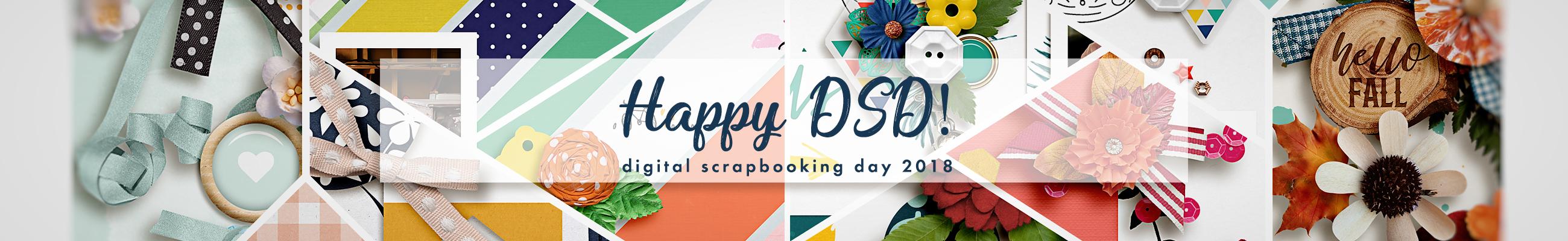 Digital Scrapbooking Day 2018